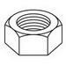 Cooper B-Line 3/8-HN-ZN Hex Nut; 3/8 Inch Diameter, 3/8-16 Coarse Thread, Steel, Electro-Plated Zinc