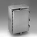 Cooper B-Line 483612-4XS Panel Enclosure; 14 Gauge 304/316L Stainless Steel, External Feet, Wall Mount