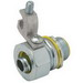 Hubbell Electrical / RACO 3513-3 Liquidtight Connector With Ground Lug; 3/4 Inch, NPT, Steel/Malleable Iron, Electro-Plated Zinc