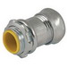 Hubbell Electrical / RACO 2966 Compression Connector; 4 Inch, Steel, Electro-Plated Zinc