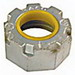 Hubbell Electrical / RACO 1138 Insulated Bushing; 2 Inch, FNPT, Malleable Iron, Electro-Zinc-Plated