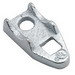 Hubbell Electrical / RACO 1348 Clamp Back; 2 Inch EMT x 2 Inch Rigid/IMC, Malleable Iron, Electro-Plated Zinc