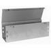 Milbank 6648-GHC1 GHC1 Wireway; G90 Galvanized Steel, ANSI 61 Gray