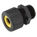 Hubbell Electrical / RACO 4704-5 Strain Relief Cord Connector; 1 Inch, Nylon