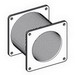Cooper B-Line 44-4XSFGK Gasket Kit; 4 Inch x 4 Inch, Stainless Steel, Brushed, Smooth Brushed
