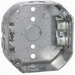 Hubbell Electrical / RACO 153 Octagon Box; 1.563 Inch Length x 4 Inch Width x 4 Inch Height x 1.5 Inch Depth, 15.5 Cubic-Inch, Steel, Silver