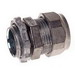 Hubbell Electrical / RACO 2802 Compression Connector; 1/2 Inch, 1/2-14 NPSM, Die-Cast Zinc