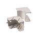 Hellermann Tyton TSRP3FW-33-1 Internal Corner Cover; Polyvinylchloride, Office White