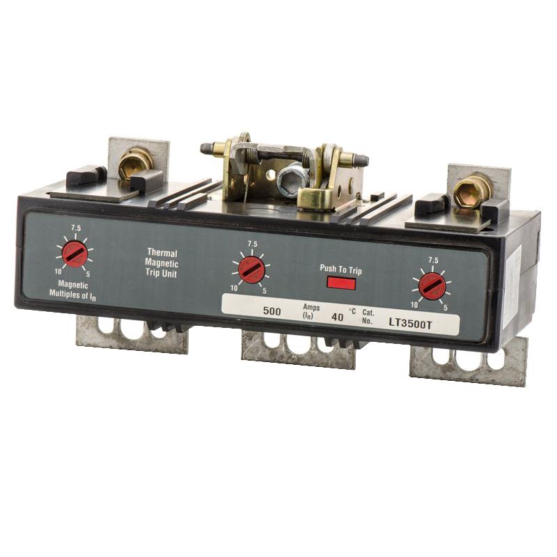 """""Eaton / Cutler Hammer LT3500T Molded Case Circuit Breaker 500 Amp, 600 Volt AC, 3-Pole,"""""" 60314"