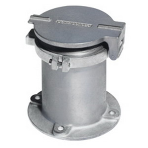 "Cooper Crouse-Hinds AP20458 Arktite Pin and Sleeve Plug 200 Amp, 600 Volt AC/250 Volt DC, 4-Pole, 4-Wire, Pressure Crimp/Solder,"""