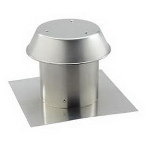 """""Broan Nu-Tone 611 Roof Cap 0.250 Inch Aluminum, Natural,"""""" 61680"