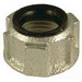 Hubbell Electrical / RACO 1132 Insulated Bushing; 1/2 Inch, FNPT, Malleable Iron, Electro-Zinc-Plated