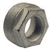 Hubbell Electrical / RACO 1162 Reducing Bushing; 2-1/2 x 2 Inch, NPT, Malleable Iron, Electro-Zinc-Plated
