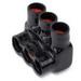 Blackburn / Elastimold AMTS50043 AMT Multi-Port Connector; 4 AWG - 500 KCMIL, 3 Ports, Aluminum, 600 Volt, Black
