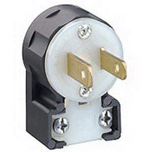 leviton ms2 ap straight blade plug 15 amp 125 volt 2. Black Bedroom Furniture Sets. Home Design Ideas