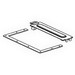 Cooper B-Line 66-12LSP Wireway™ Lay-In Sealing Plate; Steel, ANSI 61 Gray, Polyester Powder-Coated, For Control and Power Cable