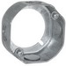 Hubbell Electrical / RACO 111 Extension Ring; 1.563 Inch Length x 3.5 Inch Width x 3.5 Inch Height x 1.5 Inch Depth, Steel, 11.8 Cubic-Inch, 4 Knockouts