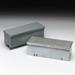 Cooper B-Line 6672GRT AM1 Z50 Straight Section Wiring Trough; 16 Gauge Galvanized Steel, ANSI 61 Gray