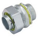Hubbell Electrical / RACO 3414 Liquidtight Connector; 3-1/2 Inch, NPT, Steel/Malleable Iron, Electro-Plated Zinc