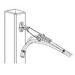 Hubbell Electrical / Burndy EA2C Versilug™ Terminal Lug; 8 - 2 AWG, 1 Hole, Copper, Unplated