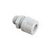 Woodhead / Molex 5532 MAX-LOC® Strain Relief Cord-Sealing Grip; 1/2 Inch, MNPT, 0.500 - 0.562 Inch, Nylon, Black