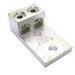 NSI 2-600L2 Panelboard Lug; 600 Volt, 1 Pole, 600 MCM-2 AWG, 3/8 Inch Bolt, Aluminum, Silver
