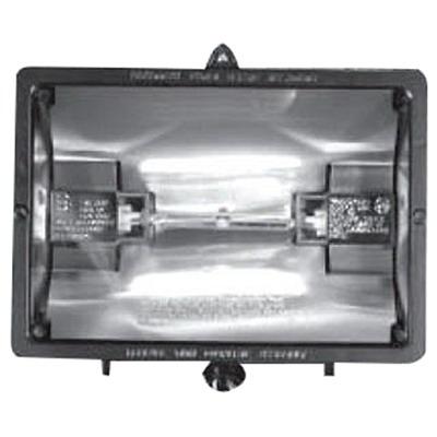 NSI QF300-500B Quartz Flood Light; 120 Volt, 300 - 500 Watt, Bronze, (2) Halogen Lamp