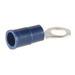 NSI R12-8V Miniterms Ring Terminal; 12-10 AWG, #8 Stud, 1 Hole, 300 Volt, Vinyl, Yellow