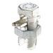 NSI APS350 Split Bolt Connector; 2/0 AWG Stranded-350 MCM, 0.414 - 0.681 Inch, 600 Volt, Silver, Aluminum Alloy