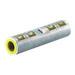 NSI ASC750T Dual Rated Standard Barrel Compression Splice; 750 MCM, 2 Conductors, 35 Kilo-Volt, Red, High-Conductivity Aluminum Tubing, Tin Plated, 1 Pole