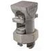 NSI APS500 Split Bolt Connector; 3/0 AWG Stranded-500 MCM, 0.464 - 0.814 Inch, 600 Volt, Silver, Aluminum Alloy
