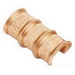 NSI CT-108 0 C-Tap Connector; Copper, 600 Volt, Orange, 1/0 AWG, 1 AWG, 2 AWG (Main); 4 AWG, 3-4 AWG, 2-3 AWG (Branch)