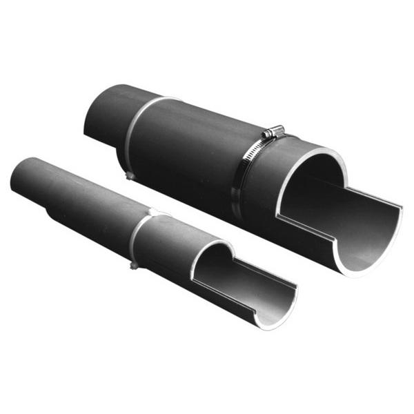 Prime Conduit 49011SD-010 Carlon SCH 40 Split Duct; 2 Inch, PV-Mold®