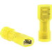 Catamount TNF10-250FD-XV 250 Series Female Disconnect; 12-10 AWG, 600 Volt, Nylon, Yellow