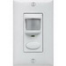Lithonia Lighting / Acuity WSD-WH Sensor Switch® Passive Infrared Wall Switch Decorator Occupancy Sensor; 120/277 Volt AC, 20 ft (Small motion), 36 ft (Large motion), Automatic On (Default)/Vacancy, White, Single Gang Switch Box Mount