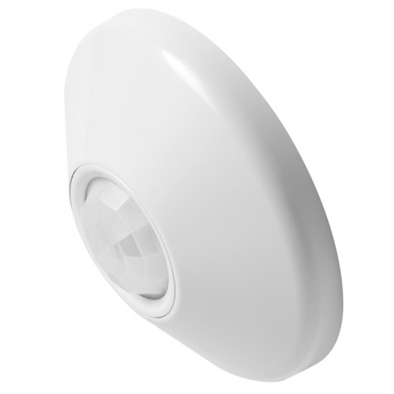 Lithonia Lighting / Acuity CM-PDT-9 Sensor Switch® Standard Range Passive Infrared Occupancy Sensor; 12 - 24 Volt AC/DC, White, Ceiling Mount
