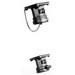 Appleton ADR1044 Powertite® Grounding Style 1 Polarized Receptacle; 100 Amp, 600 Volt AC/250 Volt DC, 4-Pole, 4-Wire, Pressure Wire Terminal