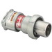 Appleton ACP6023BC Powertite® Shell and Extra Pole Only Grounding Style 2 Metallic Clamp Ring Plug; 60 Amp, 600 Volt AC at 50 - 400 Hz/250 Volt DC, 3-Pole, 2-Wire, 1 Phase, Pressure Wire Terminal