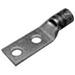 Hubbell Electrical / Burndy YA362LN Hylug™ YA-2LN Series Standard Straight Tongue Compression Lug; 2 Hole, 600 KCMIL Copper, Green