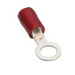 Hubbell Electrical / Burndy TN1810 INSULUG™ TN Series Ring Terminal; 22-18 AWG, #8 - #10 Stud, 1 Hole, 600 Volt, Nylon, Red
