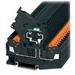 Eaton / Cutler Hammer XBQT25FBE IEC-XB Series Single Level IDC Fuse Terminal Block; 6.2 mm Space, Black