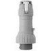 Cooper Crouse-Hinds CH430P7W Watertight Mechanical Interlock Plug; 30 Amp, 480 Volt, 4-Pole, 3-Wire, 3 Phase, Red