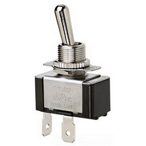 Ideal 774008 Toggle Switch; 1-Pole, SPST, 125/227 Volt AC, 20/10 Amp