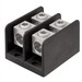 Ilsco PDB-112-350-1 MEC 350-6 ClearChoice® PDB Dual Rated Power Distribution Block; 600 Volt AC, 310 Amp, Black