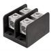 Ilsco PDB-22-500-1 MEC 500-4 ClearChoice® PDB Dual Rated Power Distribution Block; 600 Volt AC, 760 Amp, Black