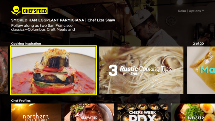 Read Gather Round the ChefsFeed Roku on ChefsFeed