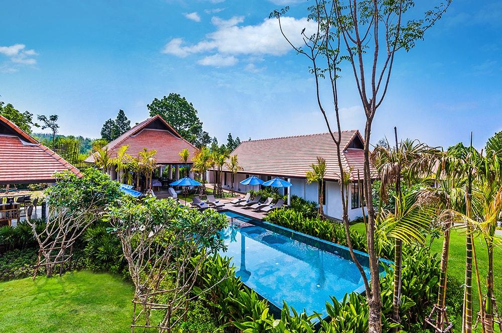 the cabin chiang mai pool
