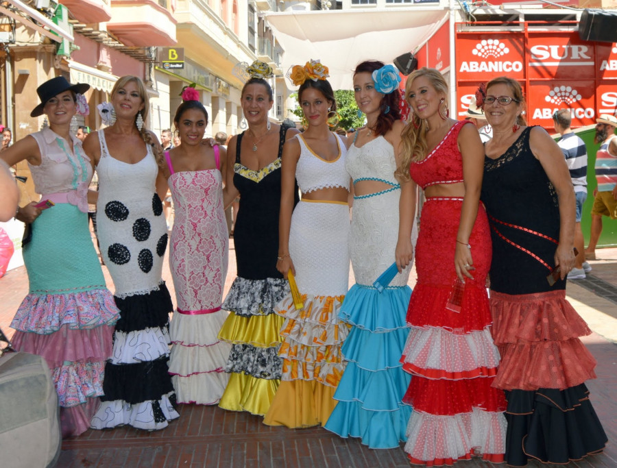 Malaga Feria - Locals in Spain -Luxury rehab