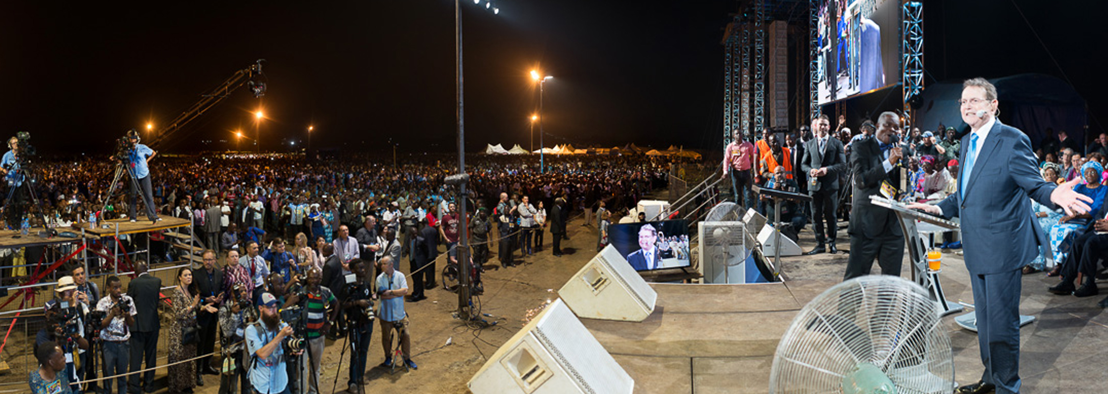 Christ for all Nations - Lagos Crusade