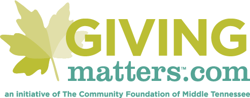 GivingMatters.com - an initiative of The Community Foundation of Middle Tennessee